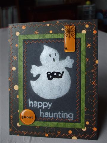 Happy Haunting Ghostie