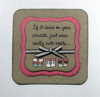 Cute Boots Card