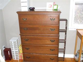 Repurposed Dresser Drawers Shelving Units