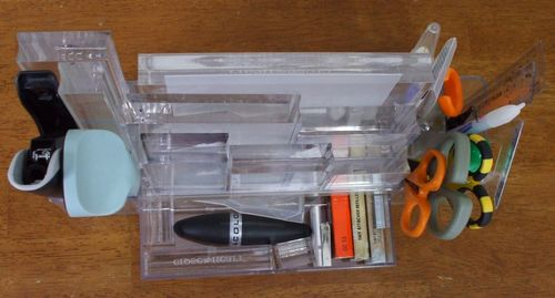 Organizer, drawer open