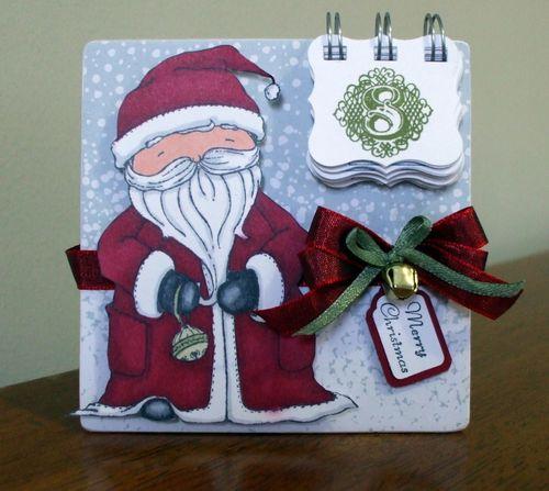 Santa Advent Calendar