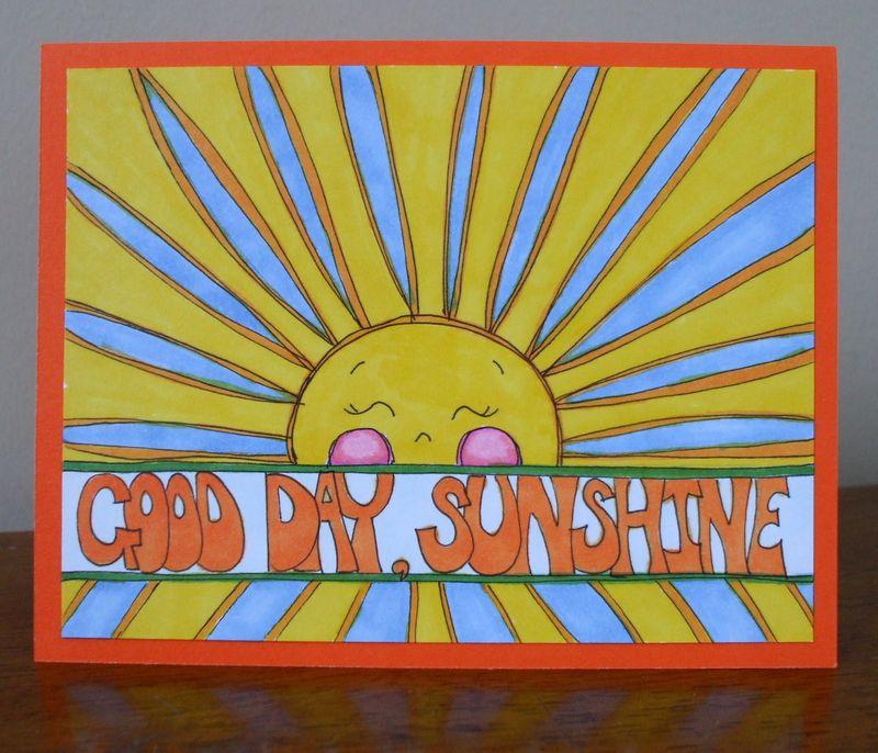 Doodled Sunshine
