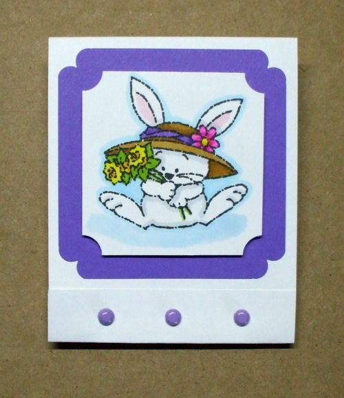 Easter Matchbook Candy Holder