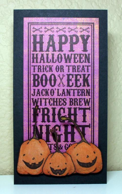 Happy Pumpkins, Happy Halloween